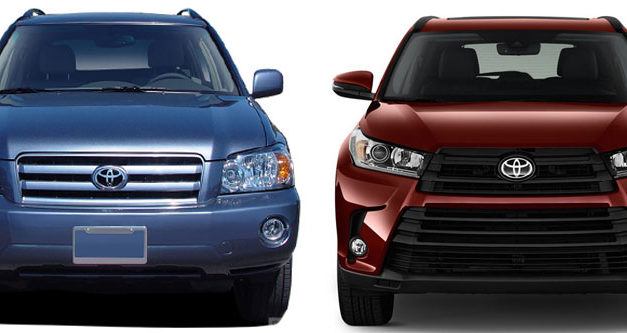 Toyota Highlander Generations