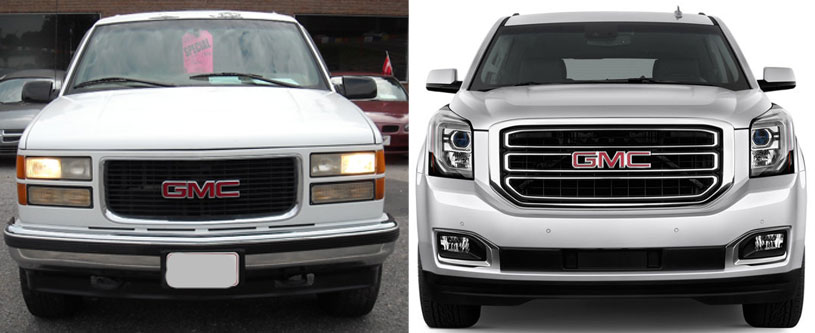 GMC Yukon Generations