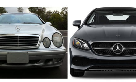 Mercedes-Benz E-Class Coupe Generations