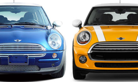 Mini Cooper 3 Door Generations