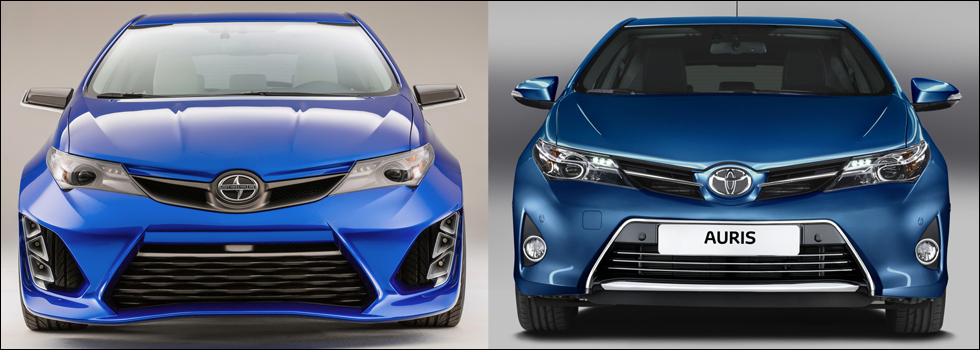 Spoiler Alert: Scion iM Concept is a Pimped Toyota Auris