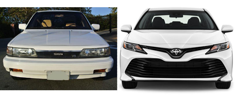 Toyota Camry Generations