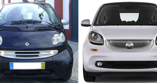smart fortwo Generations