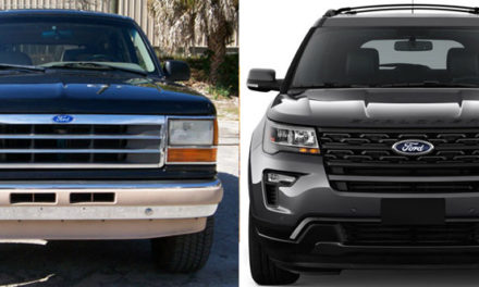 Ford Explorer Generations