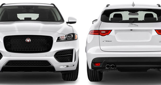 Jaguar F-Pace Generations
