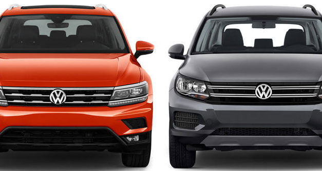 2018 Volkswagen Tiguan Compared