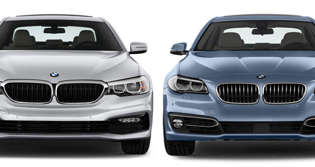 2018 BMW 5-Series Compared